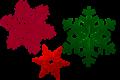 Sneeuwvlokjes / Snow flakes