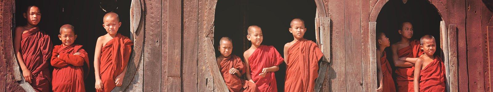 Novice Monks © iStockphoto.com/btrenkel