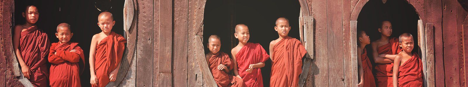 Novice Monks © iStockphoto.com/btrenkel