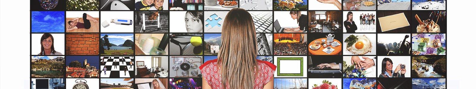 Televisieschermen © iStockphoto.com/marcoscisetti