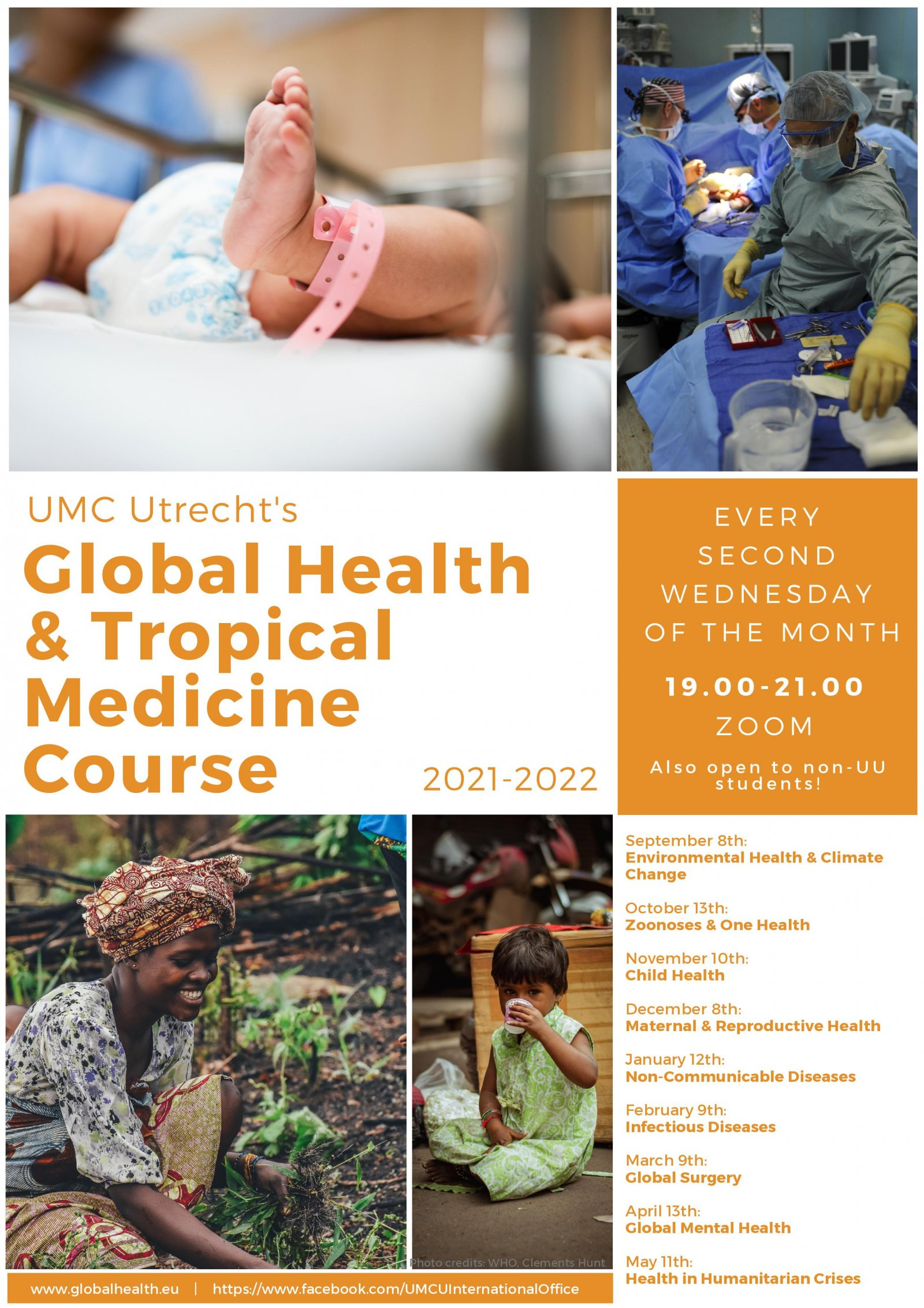 Course overview Global Health and Tropical Medicine