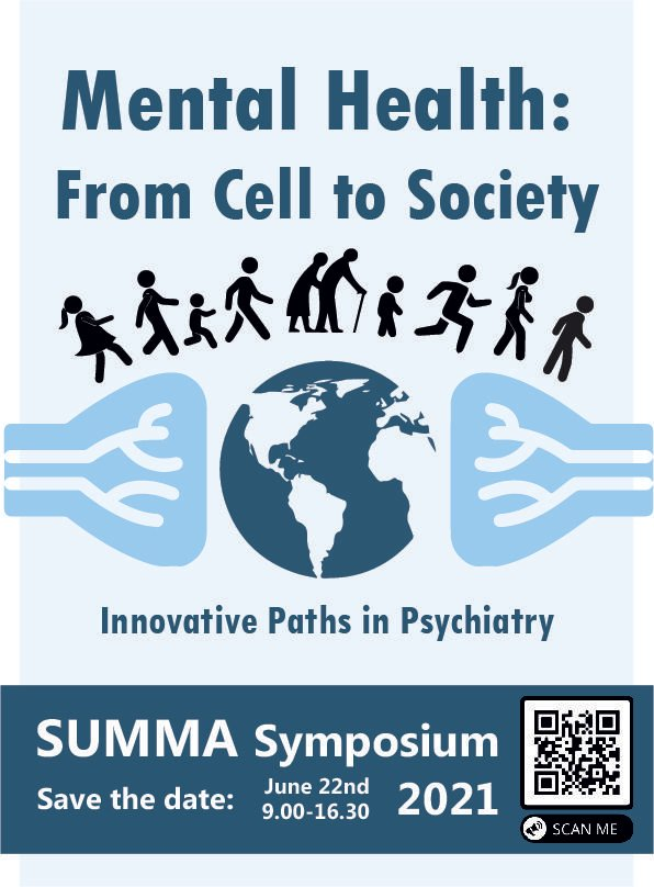 SUMMA Symposium 22 juni 2021 save the date poster