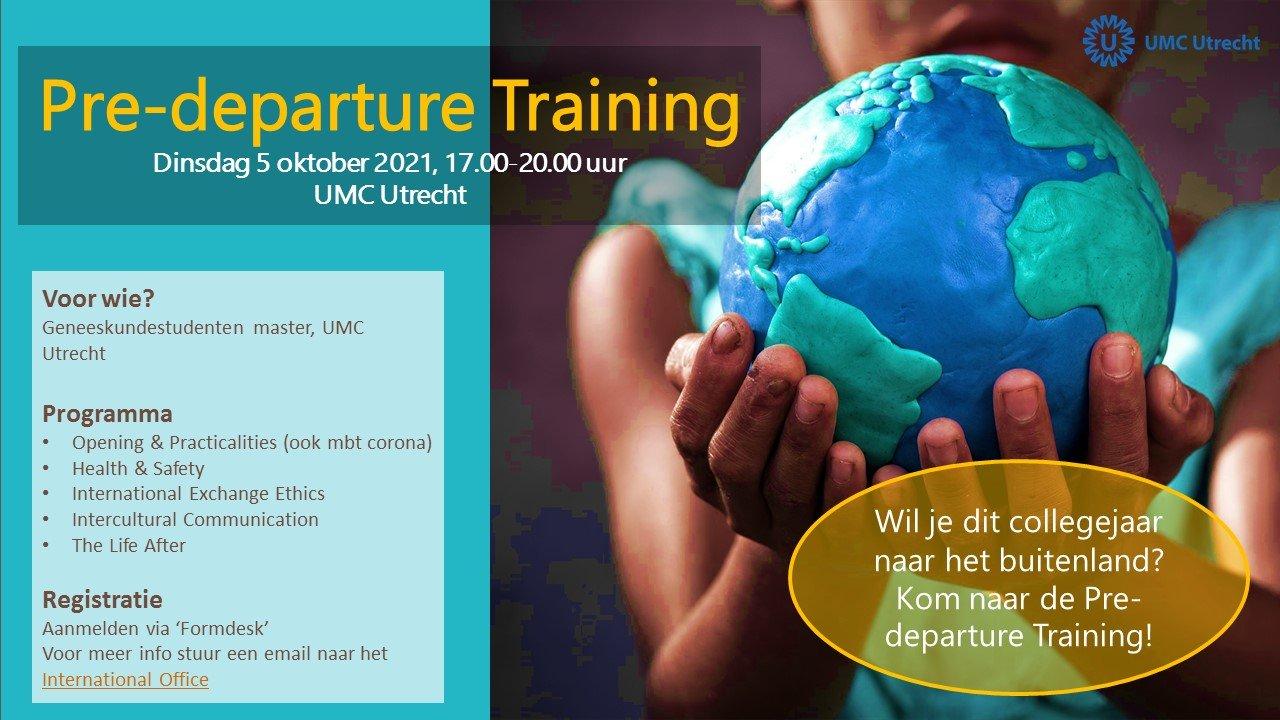 Poster Pre-departure Triaining 5 oktober