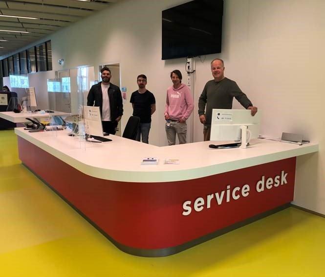 Medewerkers Servicedesk en Studielandschap UMC Utrecht