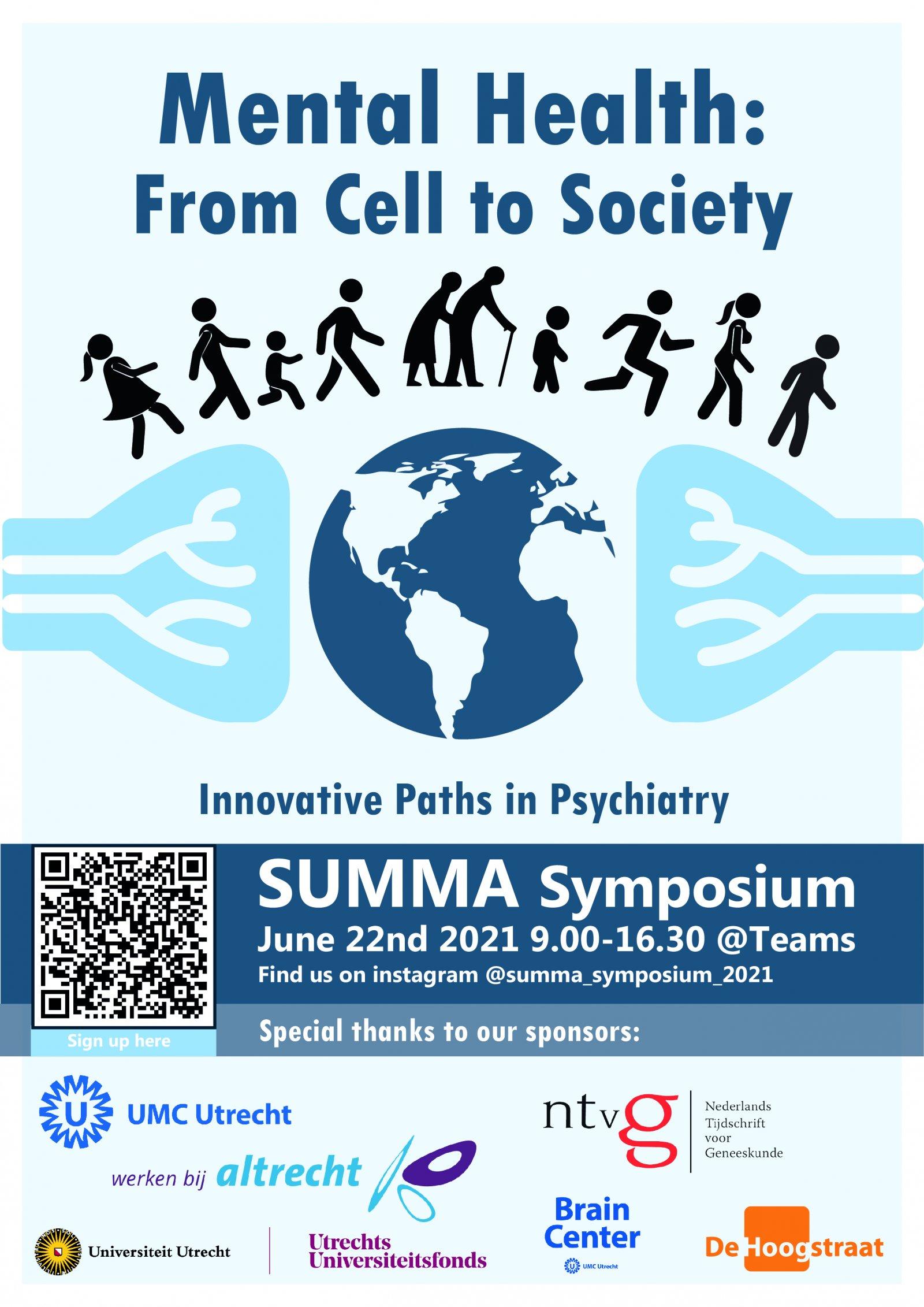 Flyer SUMMA Symposium 22 juni 2021