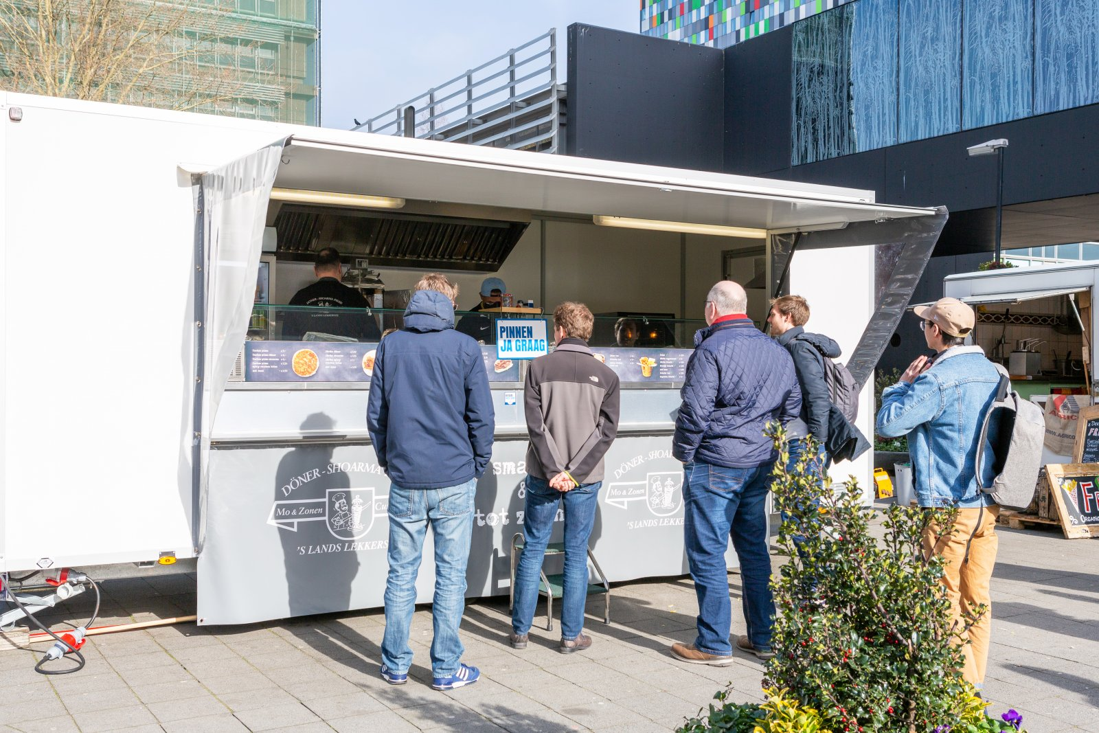 Foodtruck Mo en zonen