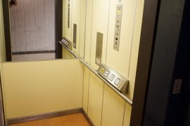 The elevator of Dining Hall