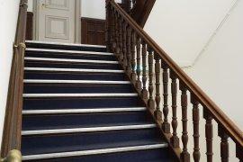 A staircase at Drift 21