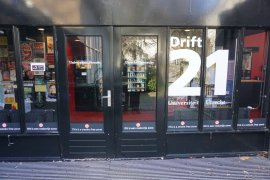 The main entrance of Drift 21