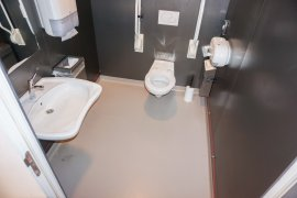 Accessible toilet at Drift 27 - University Library City Centre