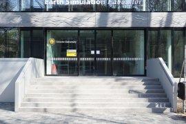 Main entrance of Earth Simulation Lab