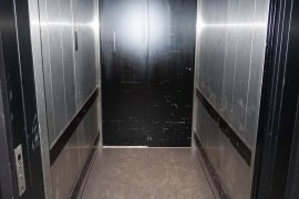 The elevator at Earth Simulation Lab