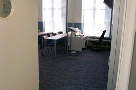 Entrance of lecture room at Janskerkhof 15