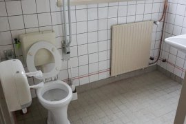 The accessible toilet of Janskerkhof 15