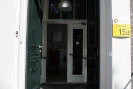 Main entrance at Janskerkhof 15