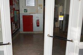 Hallway doors at Janskerkhof 15