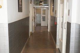 The hallway at the ground floor of Janskerkhof 15