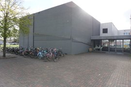 Bicycle parking of the Martinus G. de Bruin building