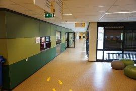 One of the corridors of the Martinus J. Langeveld building