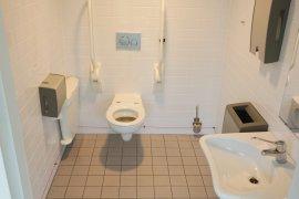 The accessbile toilet of Newtonlaan 201.