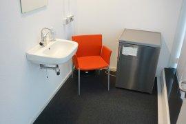 The lactation room in Newtonlaan 201.