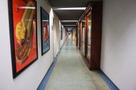 A hallway in Nieuw Gildestein