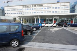 The parking spaces for disabled at the UMC Utrecht building