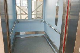 One of the elevators of the UMC Utrecht building
