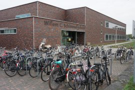 Bicycle parking of the Willem C. Schimmel building