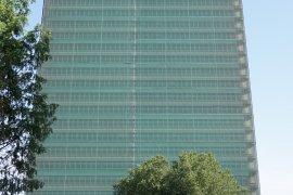Front view of the Willem C. van Unnik building