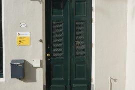 Main entrance of Wittevrouwenstraat 7bis