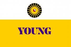 Logo Young, Jong Alumninetwerk UU
