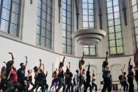 Yoga in Janskerkhof