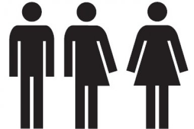 Pictogram genderneutraal toilet
