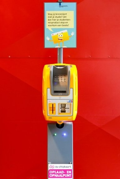 Ov-ophaalautomaat in Educatorium