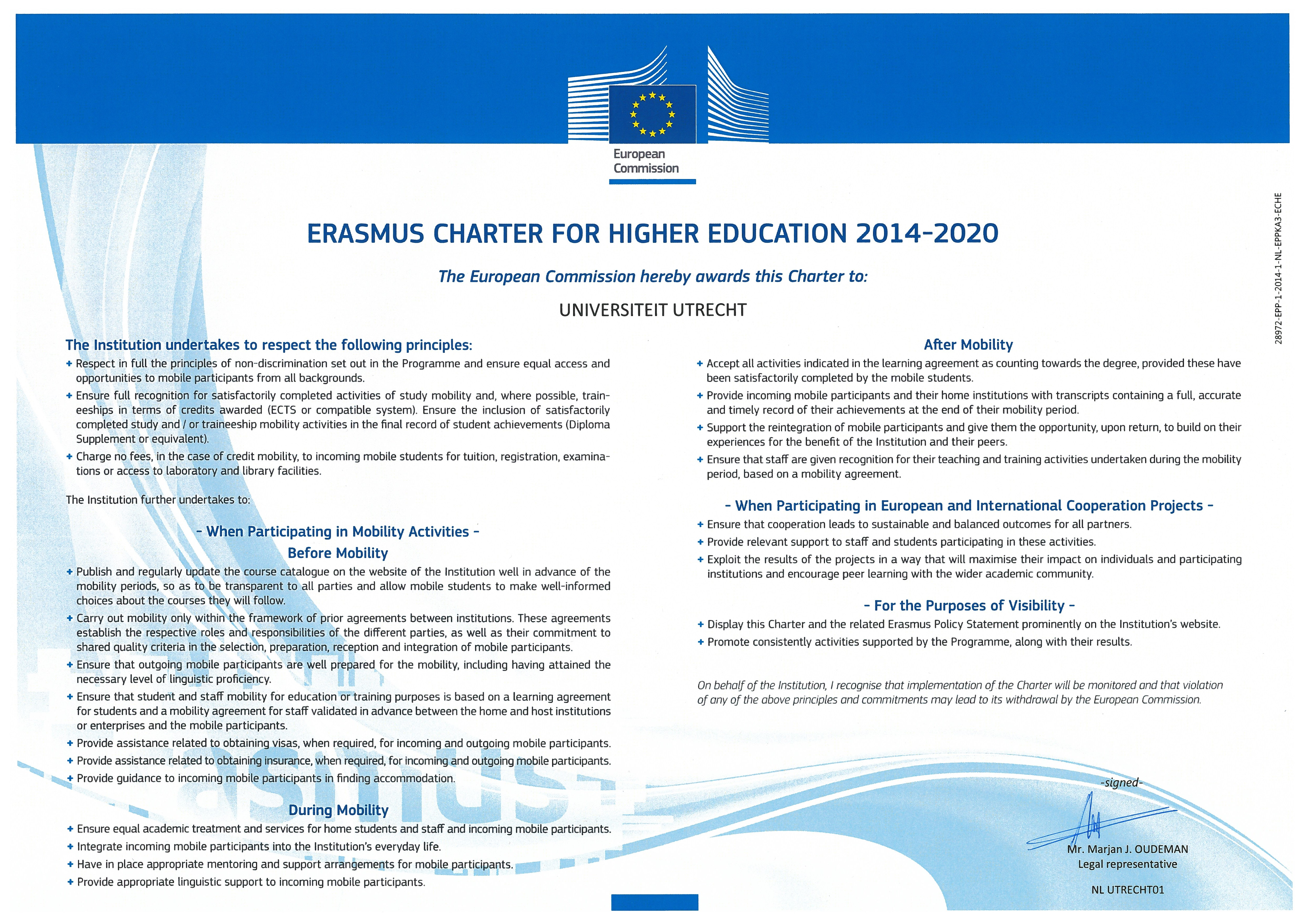 House design brief example - Utrecht University Participates In The Erasmus Programme And Holds An Erasmus Charter For Higher Education